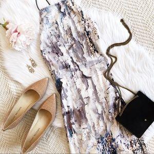 ASOS marble print cami dress
